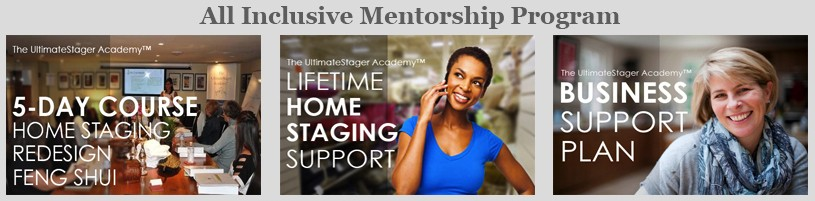 Home Staging Course - All Inclusive Mentorship Program