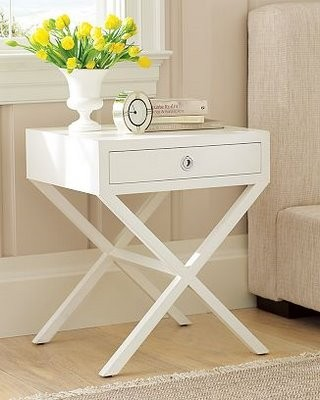 Eileen Taylor Home and Design - Side Table White