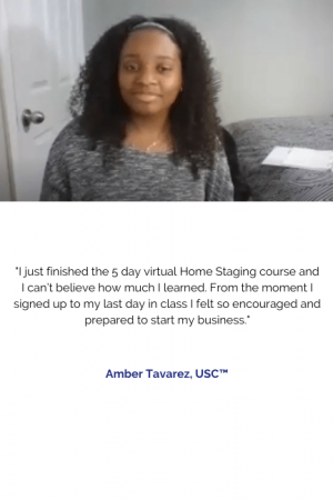 Amber Tavarez, USC™ - Home Staging - Online