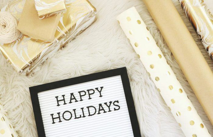 Happy Holidays – Time To Relax, Reflect, and Recharge