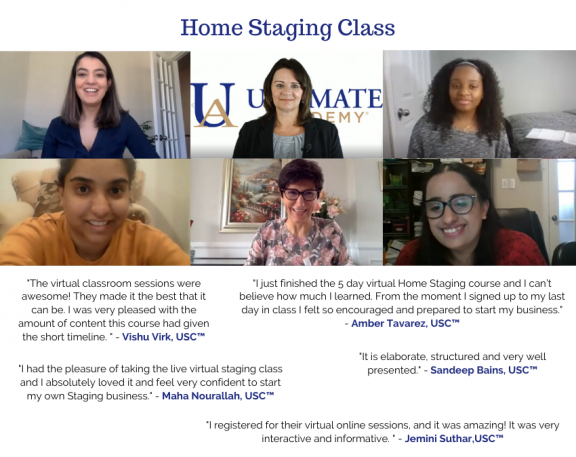 Staging Live Virtual Class