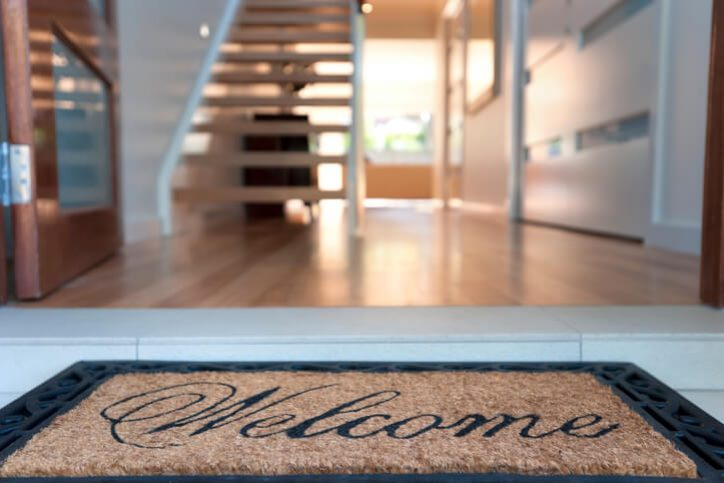 Home Staging - Welcome Mat